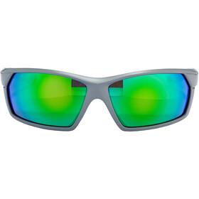 UVEX Sportstyle 225 Glasses, grey / neon green/mirror green